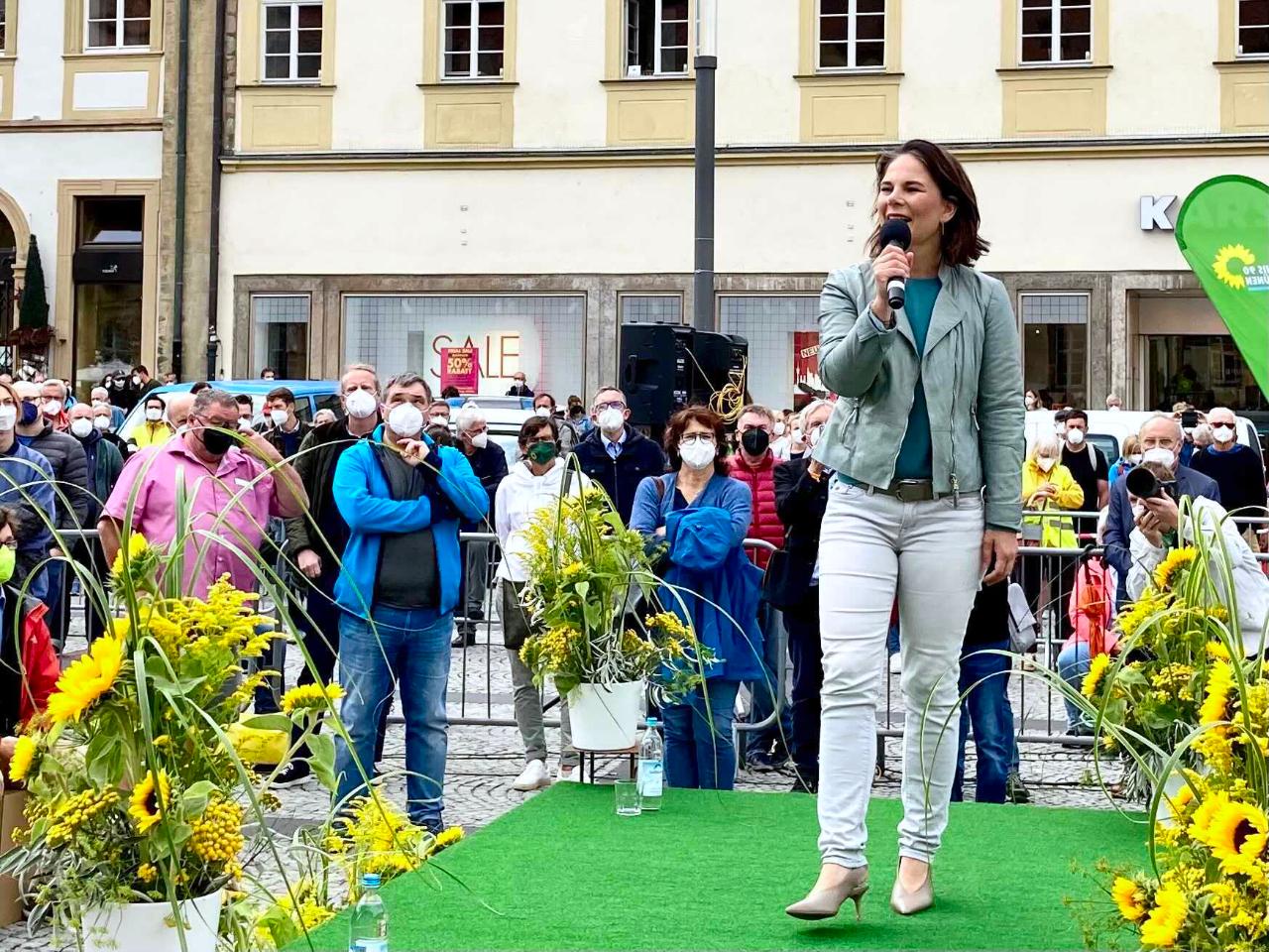 ANNALENA BAERBOCK BEGEISTERT BAMBERG